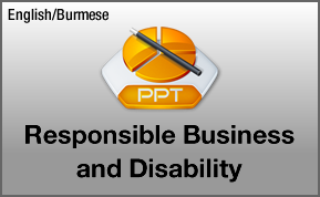 Responsible Business and Disability