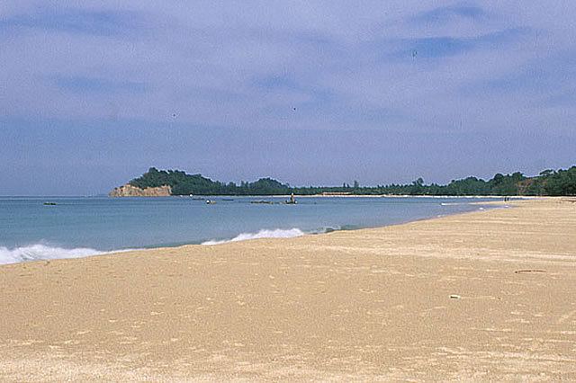 Ngpali Beach is one of the most beautiful beaches of Southeast Asia and a popular tourist destination in Myanmar.