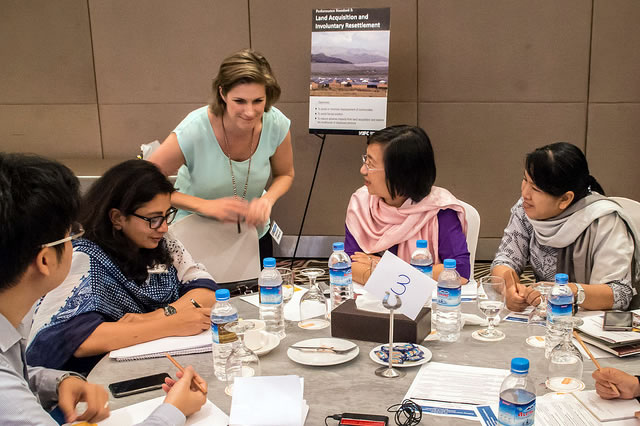The workshop was attended by around 40 experts from the IFC, international and Myanmar business, Myanmar government and civil society organisations.