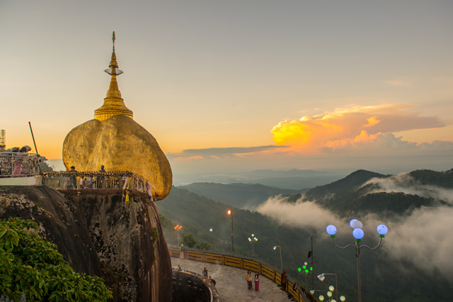 Kyaiktiyo is a well-known Buddhist pilgrimage site and is ranked first on a list of attractions to visit in Mon State by top travel forum Tripadvisor.