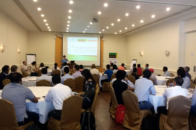 The workshop was attended by 45 participants from the three main mobile operators, main tower construction companies and their sub-contractors.
