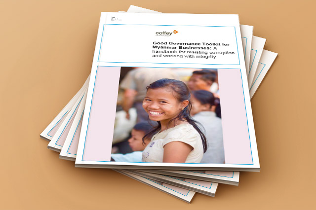 The Good Governance Toolkit for Myanmar Businesses was published in English and Burmese in 2016.