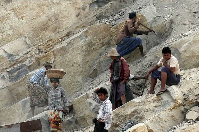 The Mining SWIA includes in-depth analysis of existing Myanmar policy and legal frameworks relevant to the mining sector. Photo: Ian M. Watkinson