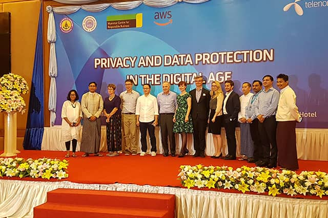 The aim of the seminar was to discuss the importance of data protection and privacy in an increasingly data-driven Myanmar.