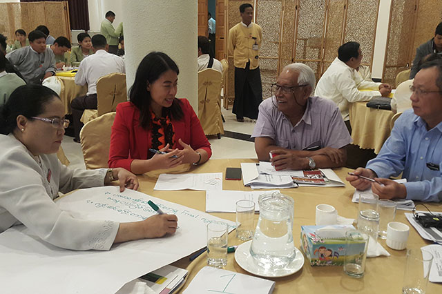 The decision to hold the workshop was also prompted by the intention of the Sagaing regional government and parliament to adopt its own Mining Law.