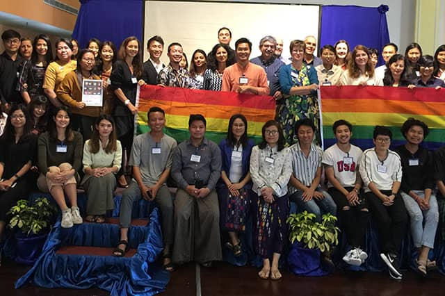 The workshop was co-organised by Colors Rainbow, the Institute of Human Rights and Business (IHRB), and Myanmar Centre for Responsible Business, with support from Open Society Foundations.