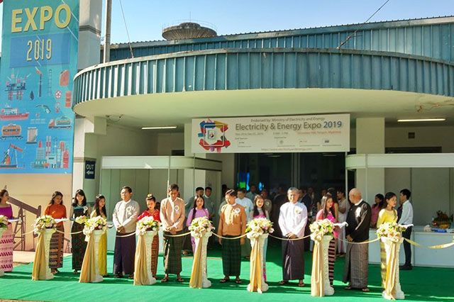 The expo was organised by Dagon Exhibitions, Myanmar Oil and Gas Services Society, and AALL Corporation Pte Ltd.