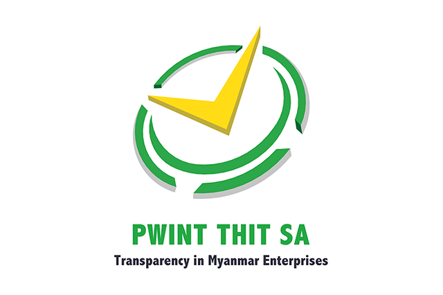 The Pwint Thit Sa project, also known as Transparency in Myanmar Enterprises (TiME), is intended to encourage increased transparency by Myanmar businesses.